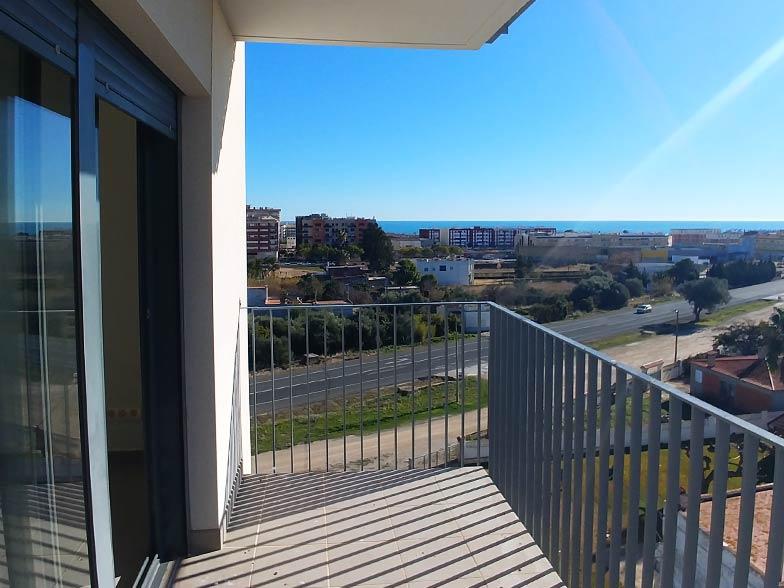 vistas terrazas viviendas de obra nueva en vinaroz